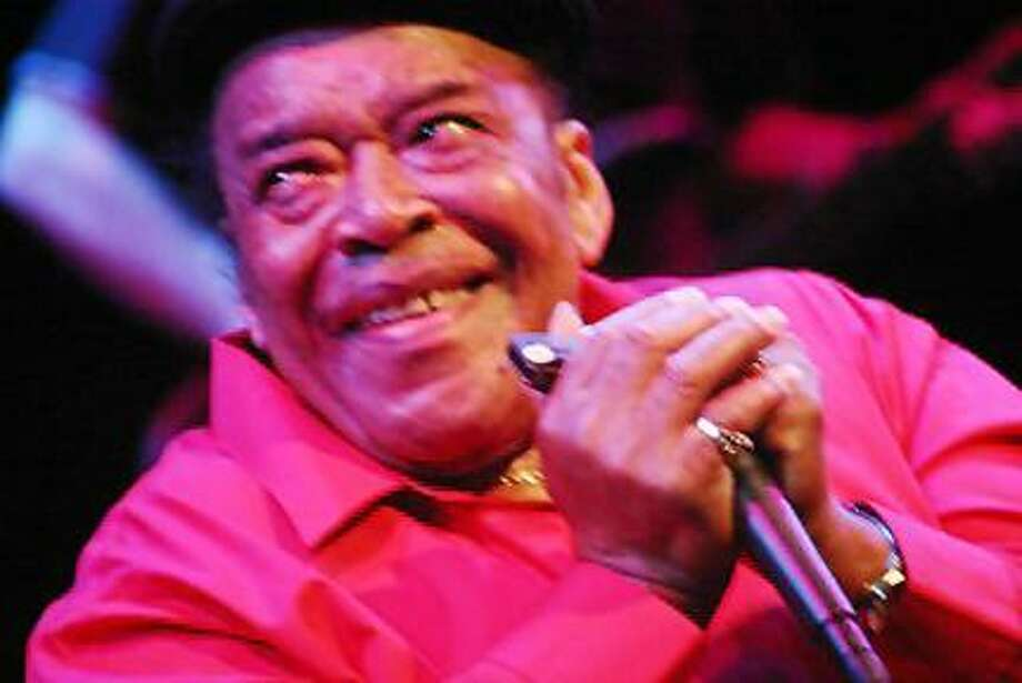 James Cotton seen at Infinity Music Hall. (Domenic Forcella