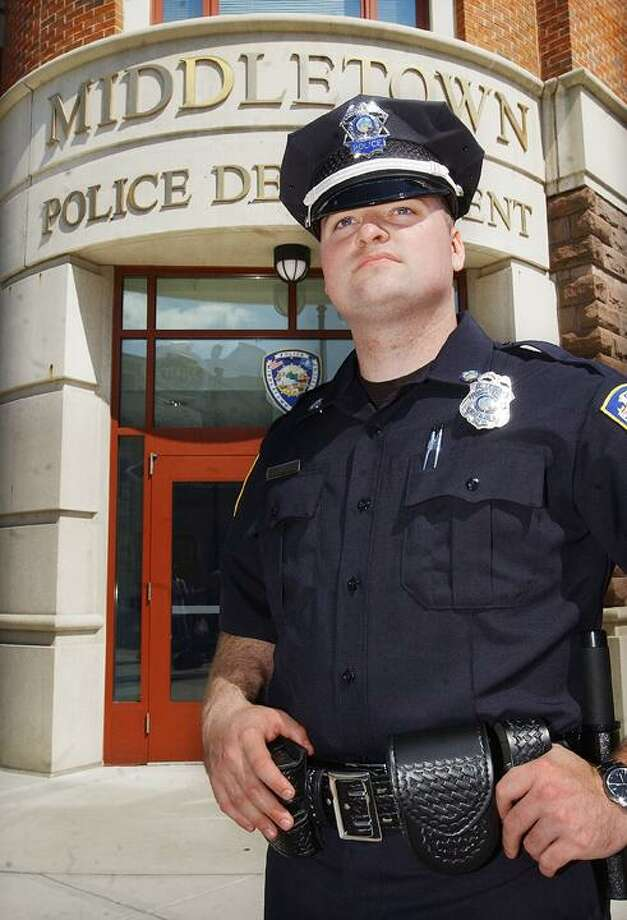 Brian Owens is the newest member of the Middletown Police Department and will start Thursday at 7:45 a.m. (Catherine Avalone