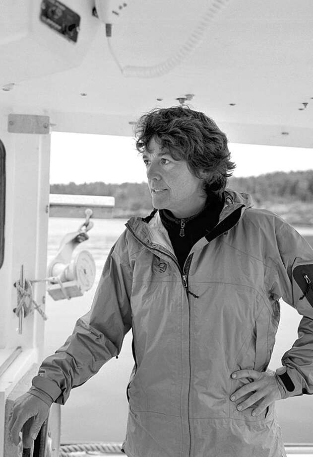 """After a Japanese boat enters the Grand Banks off Newfoundland and nabs from the fleet the best spot to catch swordfish, Capt. Linda Greenlaw of the Hannah Borden takes action  on """"Swords: Life on the Line"""" (Journal Register News Service)"""