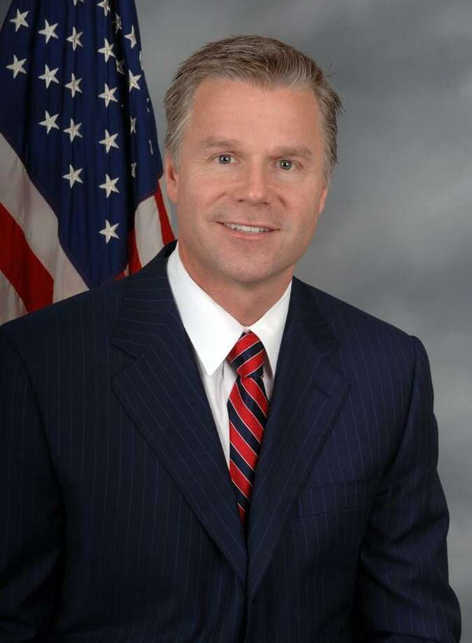 In this image provided by the U.S. House of Representatives, Rep. Christopher Lee, R-N.Y., is seen in Washington. Lee is abruptly resigning his seat, saying he regrets actions that have hurt his family and others after a gossip web site reported Wednesday, Feb. 9, 2011, that Lee, a married two-term Republican lawmaker, had sent a shirtless photo of himself to a woman he met on Craigslist. (AP Photo/House of Representatives)