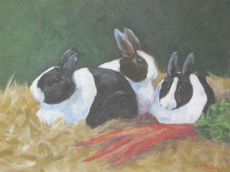 """Pam Carlson's """"Triples"""" will be featured in an art show at Essex Art Association's Gallery on Oct. 15."""