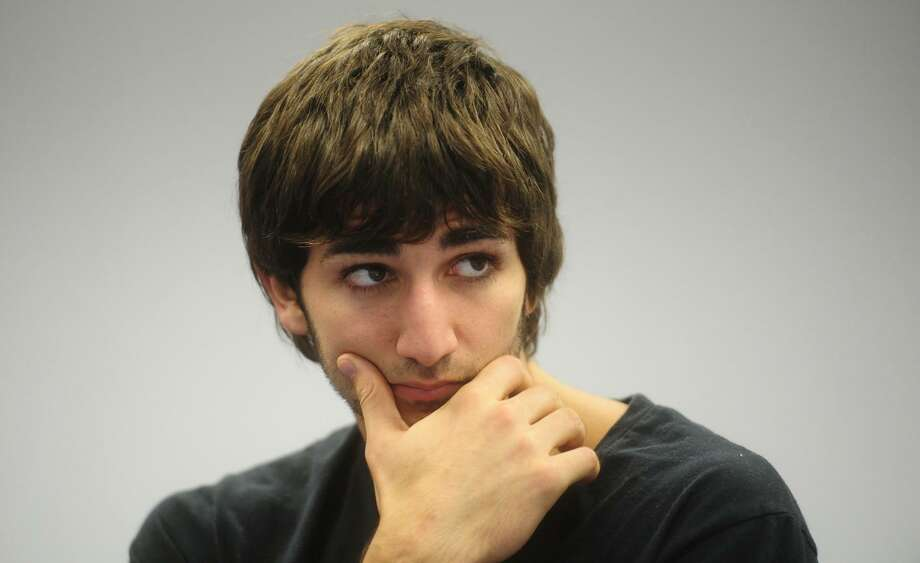 In this photo taken Oct. 14, 2010, Spanish basketball player Ricky Rubio, who plays for Barcelona, gestures during an interview with The Associated Press in Barcelona, Spain. The Spaniard's 3-point shooting has plummeted to 20 percent in the Euroleague this season, a slump that has followers of the Minnesota Timberwolves concerned even though they hope to see the 2009 first-round draft pick wearing the No. 9 jersey in Minneapolis in the near future.(AP Photo/Manu Fernandez)