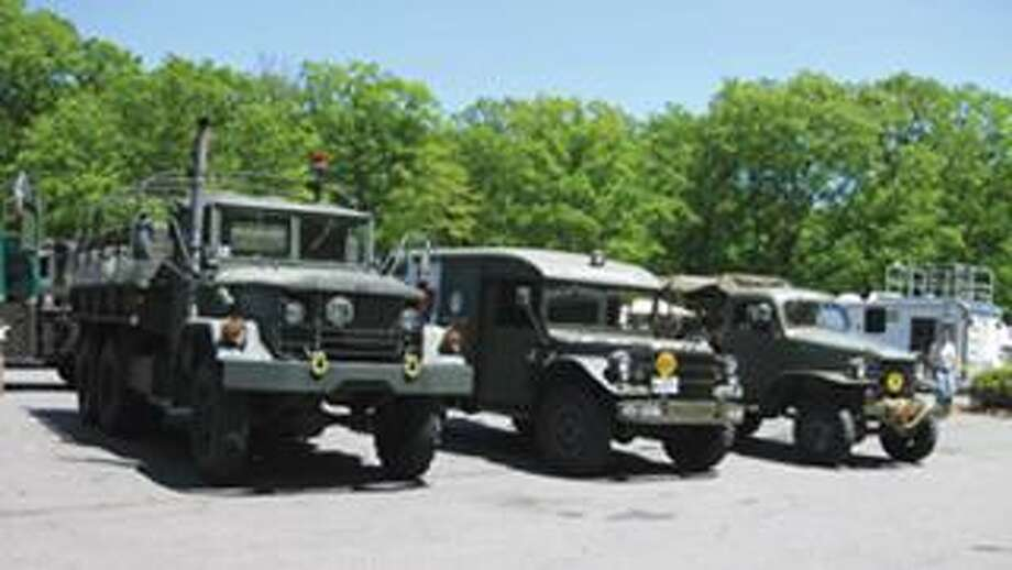 The Chester Fairgrounds will host a military car show Saturday. Organizers say they expect as many as 100 military vehicles to be on display at the show, which runs from 8 a.m. to 4 p.m.