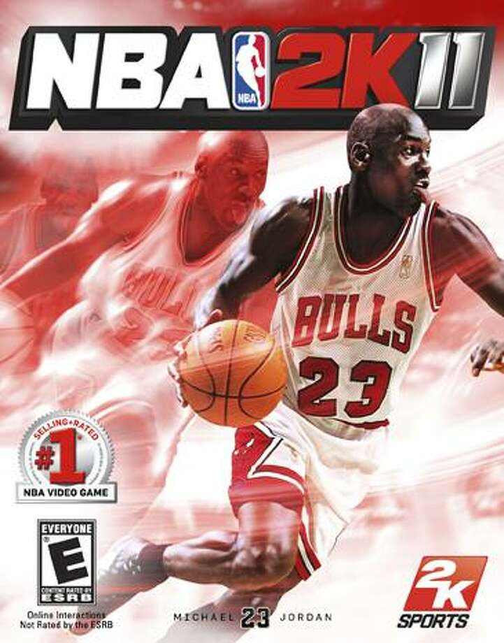 In this publicity image released by 2K Sports on Thursday, NBA great Michael Jordan is shown on the cover of the NBA 2K11 video game. One of sports' top pitchmen during his Hall of Fame playing career, Jordan had never before appeared on the cover of an NBA-licensed basketball game. (AP Photo/2K Sports) Photo: AP / 2K Sports