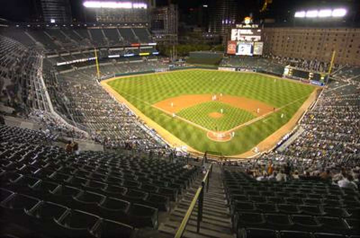 Camden Yards, better known to Red Sox Nation as Fenway Park South in Baltimore, Md. (AP)