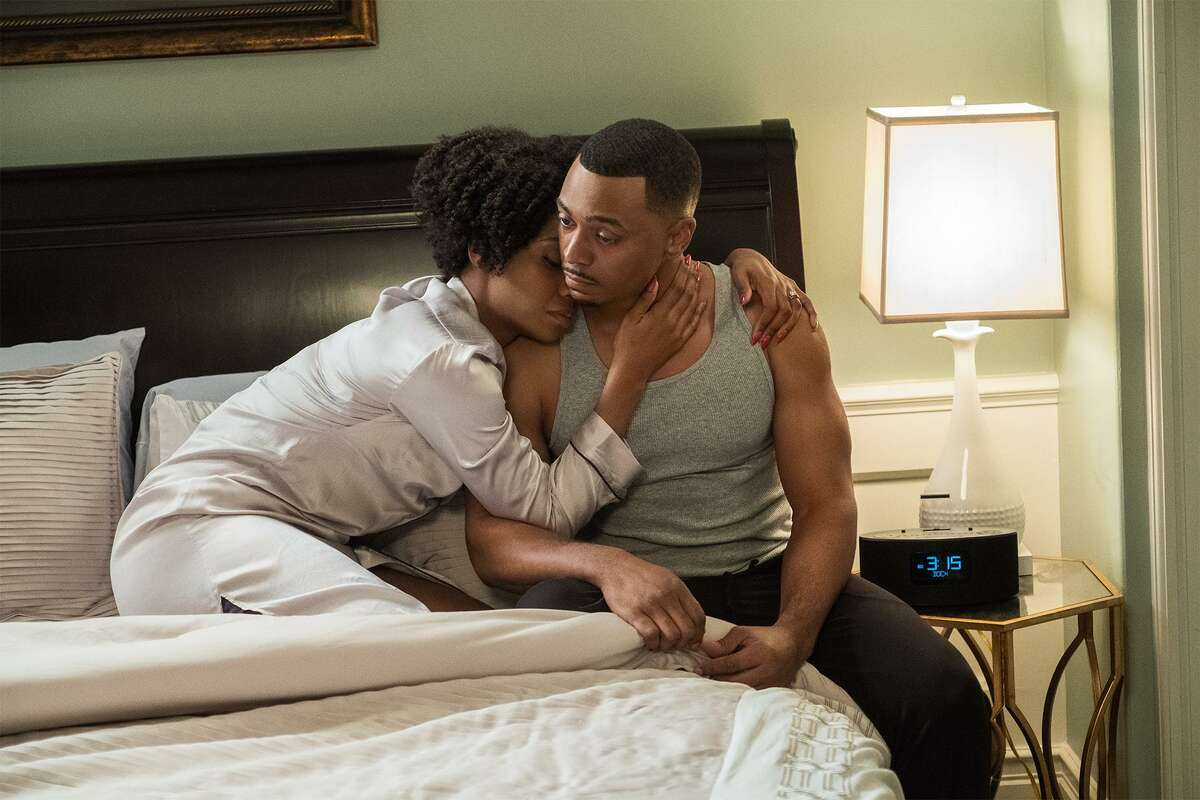 """Teyonah Parris plays Missy and RonReaco Lee is her husband, Reggie Vaughn, on the fourth season of """"Survivor's Remorse."""""""