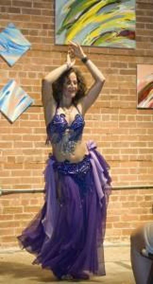 Belly dancing at The Buttonwood Tree. (Submitted photo)