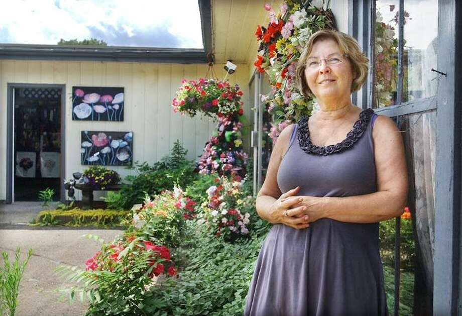 After 33 years in business Pamela Geato, owner of Geato's Flower Shop & Greenhouses in Portland, will close her doors. Geato and her late husband Lambert purchased the shop 33 years ago from her father-in-law who established the business in 1937. (Catherine Avalone