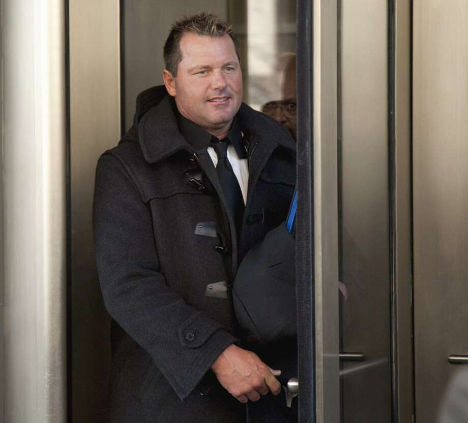 AP Former Major League Baseball pitcher Roger Clemens leaves the federal court House in Washington, Wednesday.