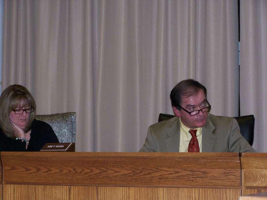 Sheila Daniels and Gene Nocera