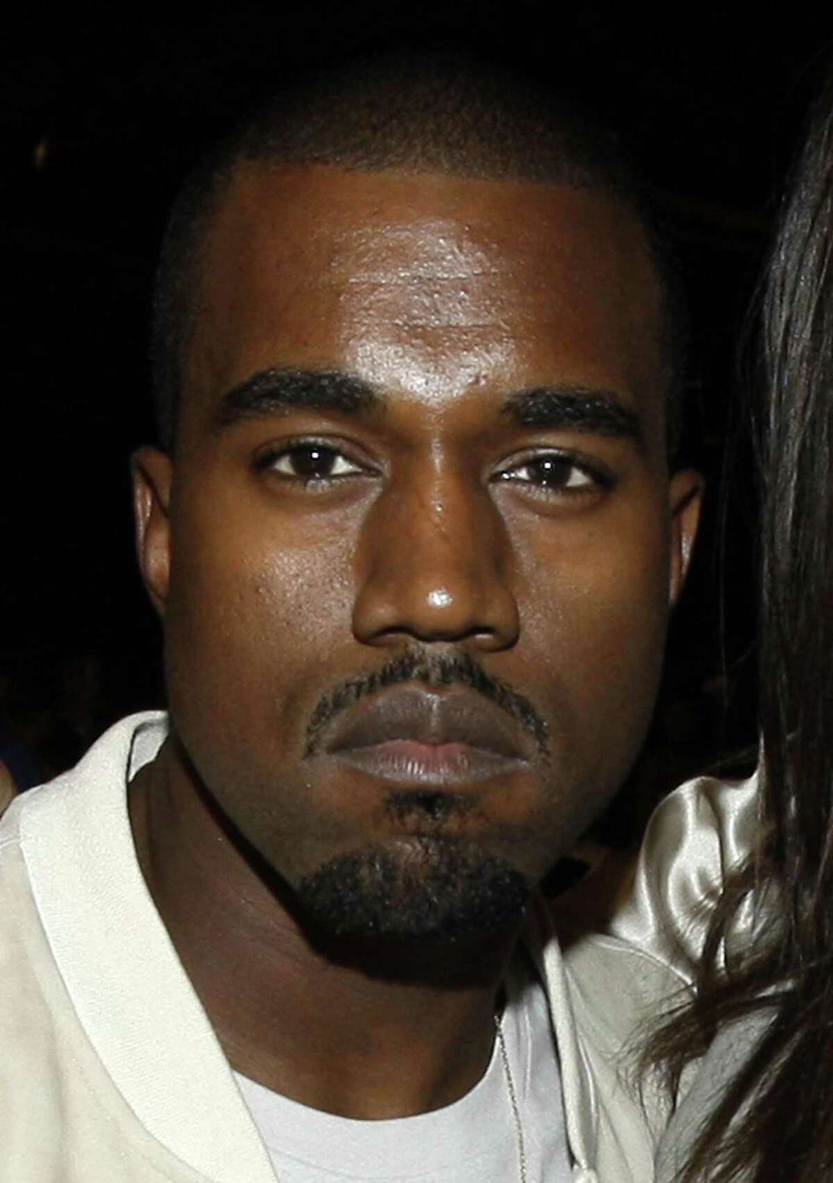 FILE - In this June 28, 2009 file photo, singer Kanye West appears backstage at the 9th Annual BET Awards in Los Angeles. (AP Photo/Matt Sayles, file)