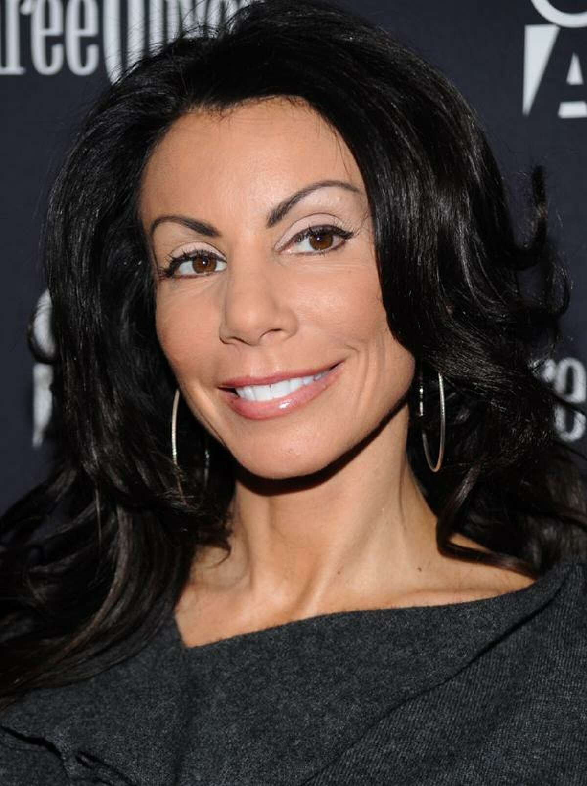 """In this Jan. 5, 2010, file photo, TV personality Danielle Staub attends the premiere of """"Youth In Revolt"""" in New York. (AP)"""