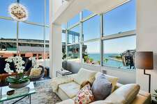 The South Beach residence offers bay and ballpark views.