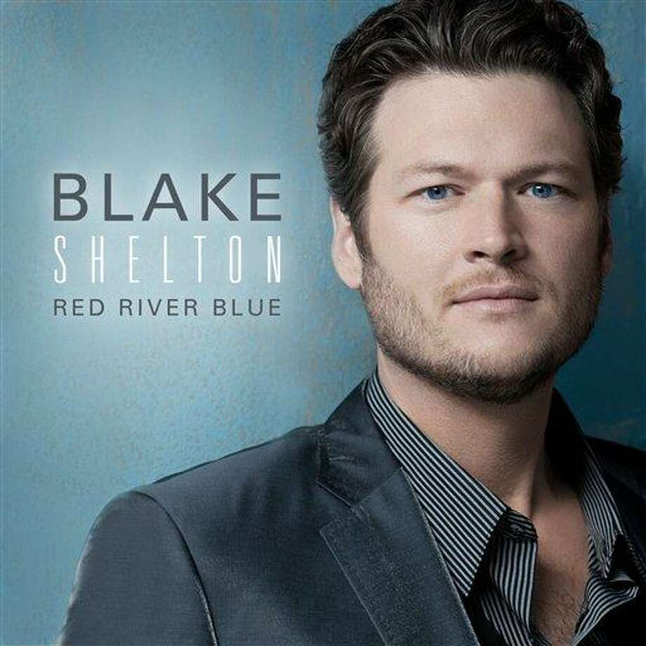 """In this CD cover image released by Warner Bros. Records, the latest release by Blake Shelton,  """"Red River Blue,"""" is shown. (AP Photo/Warner Bros. Records) Photo: AP / Warner Bros. Records"""