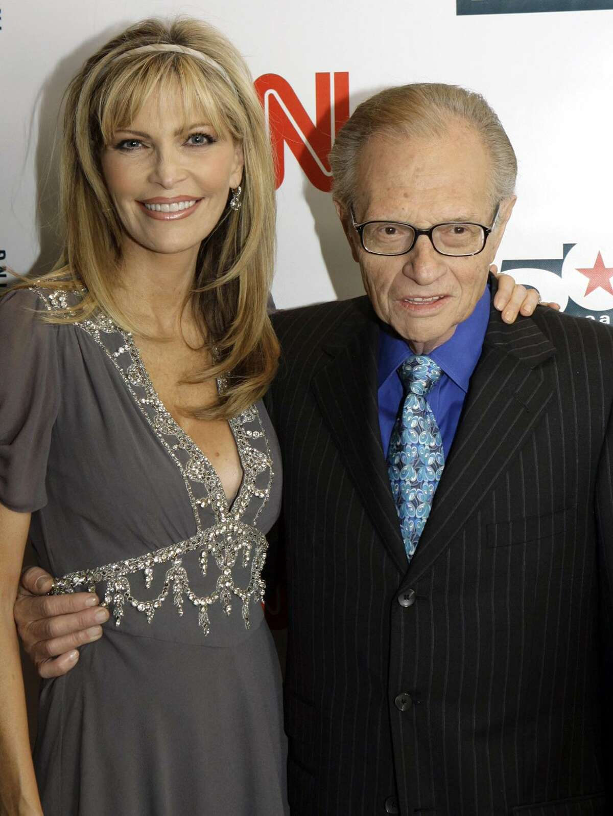 Larry King and ex-wife