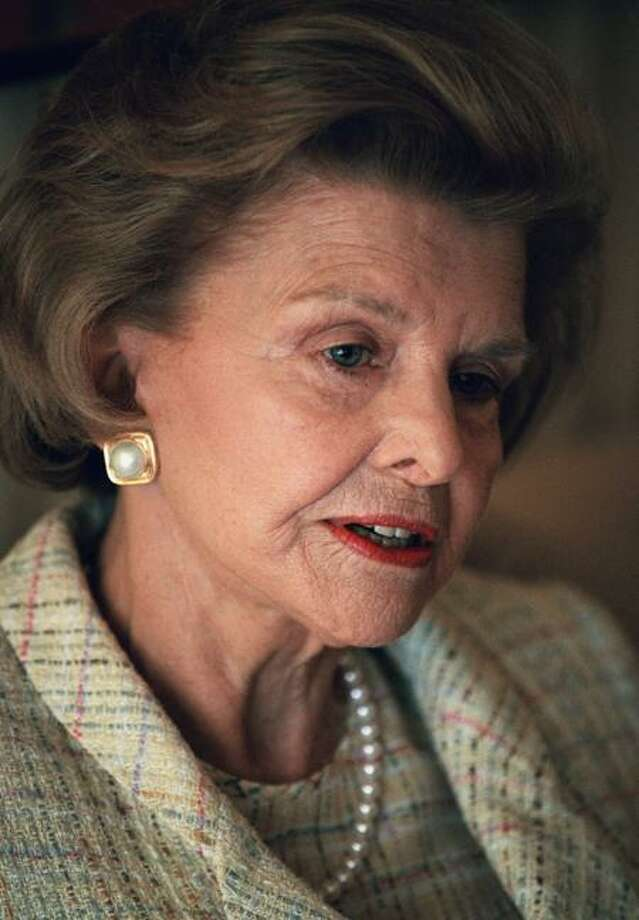 Former first lady Betty Ford in 1994  Associated Press Photo: AP / AP