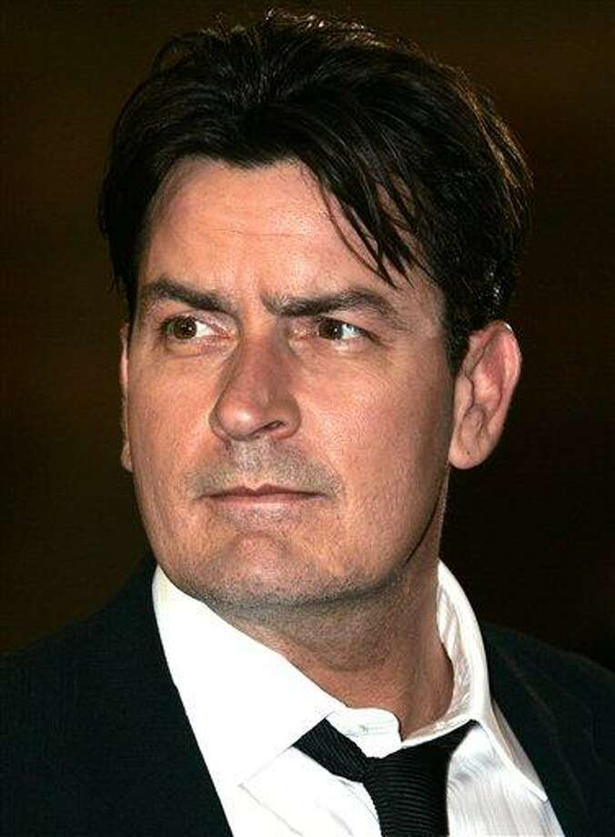 "This May 21, 2006 file photo shows actor Charlie Sheen as he arrives for the screening of the film ""Platoon,""at the 59th International Film Festival in Cannes, France.  (AP Photo/Kirsty Wigglesworth, File) Photo: AP / AP2006"