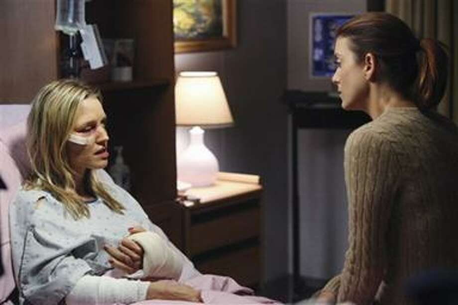 """In this publicity image released by ABC, KaDee Strickland, left, and Kate Walsh, are shown in a scene from """"Private Practive,"""" airing Thursday, Nov. 4, 2010. (AP Photo/ABC, Adam Larkey) Photo: AP / © 2010 American Broadcasting Companies, Inc. All rights reserved."""
