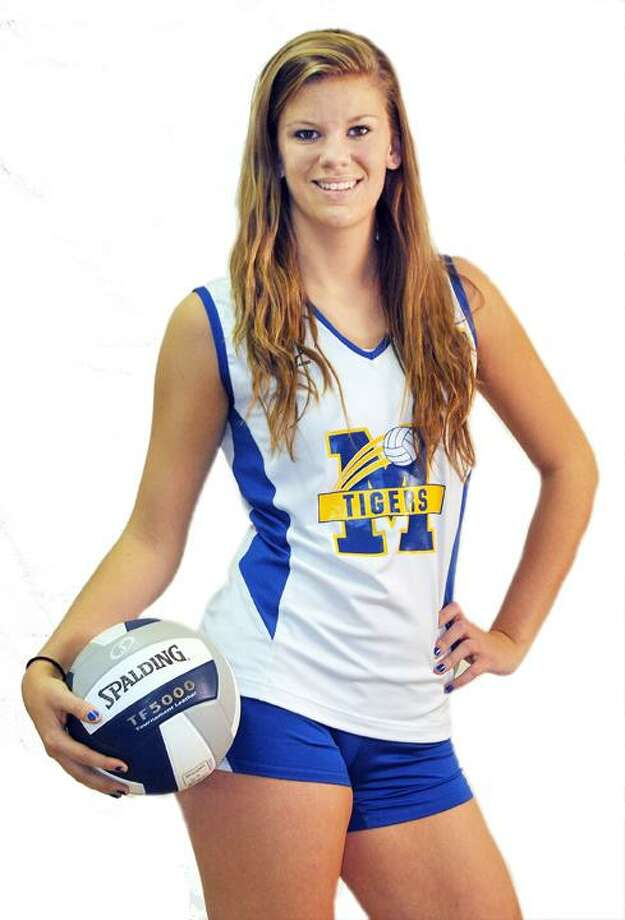 Mercy volleyball senior captain Alyssa Henry. / TheMiddletownPress