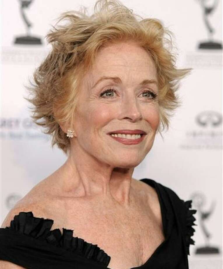 "FILE - In this Aug. 27, 2010 file photo, actress Holland Taylor from the comedy series, ""Two and a Half Men."" arrives at the 62nd Primetime Emmy Awards Performers Nominee Reception in West Hollywood, Calif. (AP Photo/Chris Pizzello, file) Photo: AP / AP2010"
