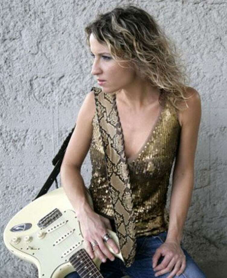Ana Popovic returns to the Hungry Tiger this week. (Artist Exclusive)
