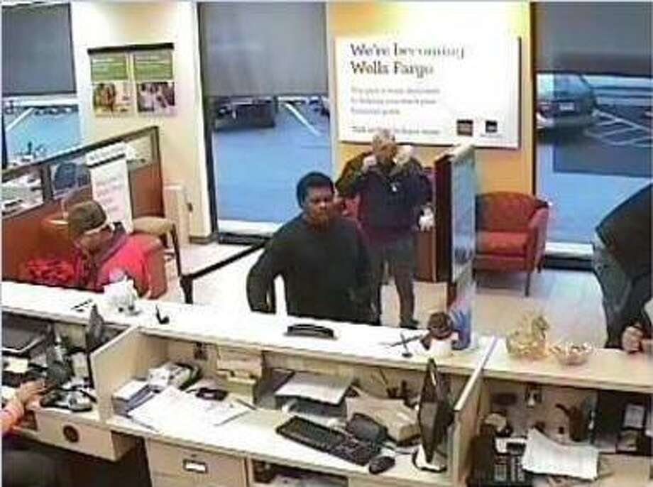 A bank video caught this image of the suspect in the Wachovia Bank robbery in Middletown Thursday.