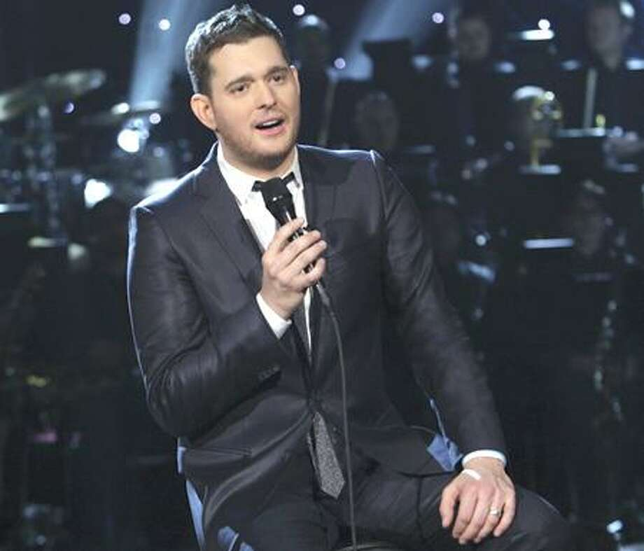 """NBC will ring in the season with """"A Michael Buble Christmas,"""" the three-time Grammy winner's first-ever holiday variety special. At 8 p.m. Photo: Eric Liebowitz/NBC / © NBCUniversal, Inc."""