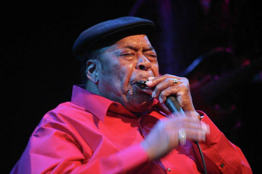 James Cotton brings his SuperHarp to Bridge Street Live. (Submitted photo)