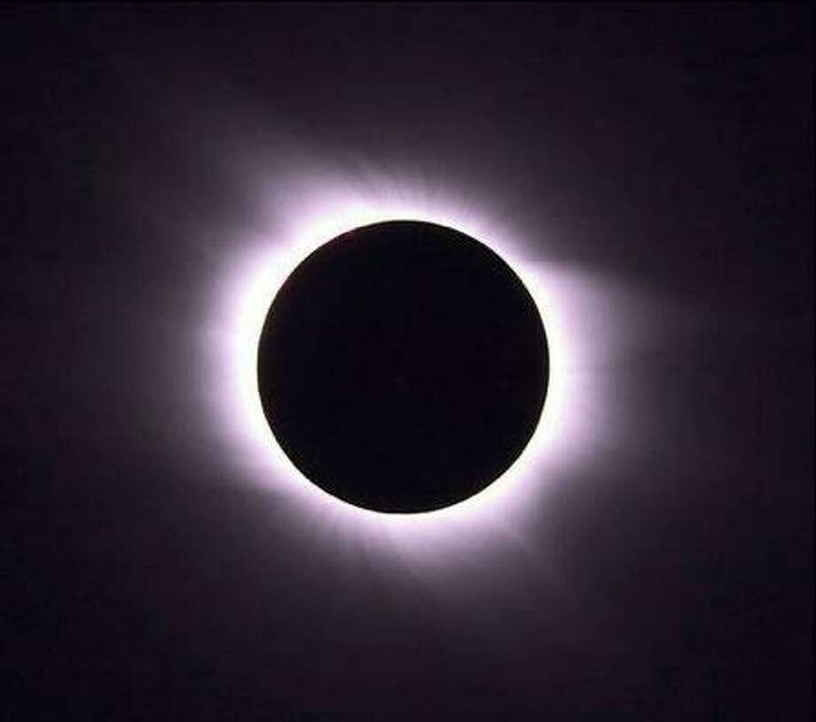 Monday, Aug. 21, a total solar eclipse will occur. It will be visible across North America. Photo: Contributed Photo / Westport News