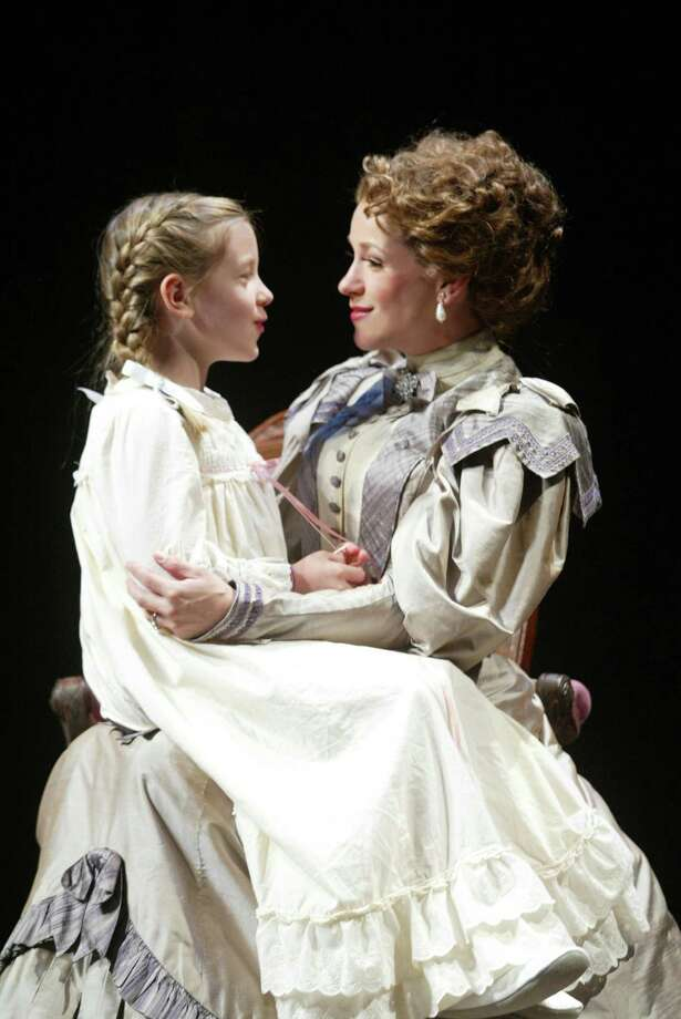 "Broadway star Sarah Uriarte Berry and her eight-year-old daughter Madeleine are playing mother and daughter in the musical ""Show Boat"" at the Goodspeed Opera House through Sept. 17. Photo: Contributed Photo / Connecticut Post Contributed"