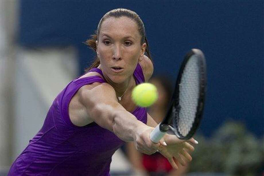 Serbia's Jelena Jankovic was granted a wild card Wednesday into the New Haven Open at Yale, which takes place Thursday through Aug. 27 at the Connecticut Tennis Center. (Associated Press) Photo: AP / The Canadian Press