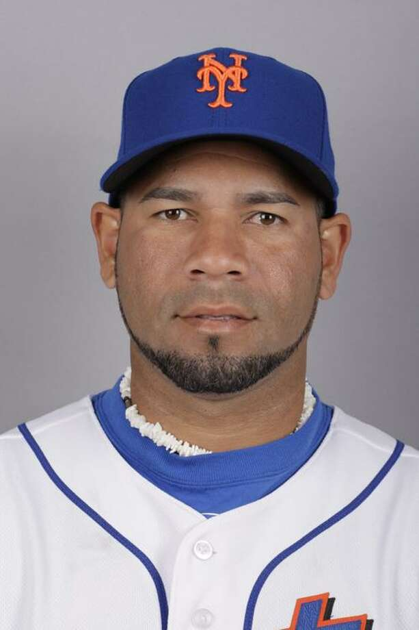 FILE - This Feb. 27, 2010, file photo shows New York Mets baseball player Pedro Feliciano. A person familiar with the negotiations says Feliciano is moving across town from the Mets to the Yankees, reaching a preliminary agreement on an $8 million, two-year contract. The person spoke to the Associated Press on Friday, Dec. 17, 2010,  on condition of anonymity because the deal is subject to Feliciano passing a physical. (AP Photo/Jeff Roberson, File) Photo: ASSOCIATED PRESS / AP2010