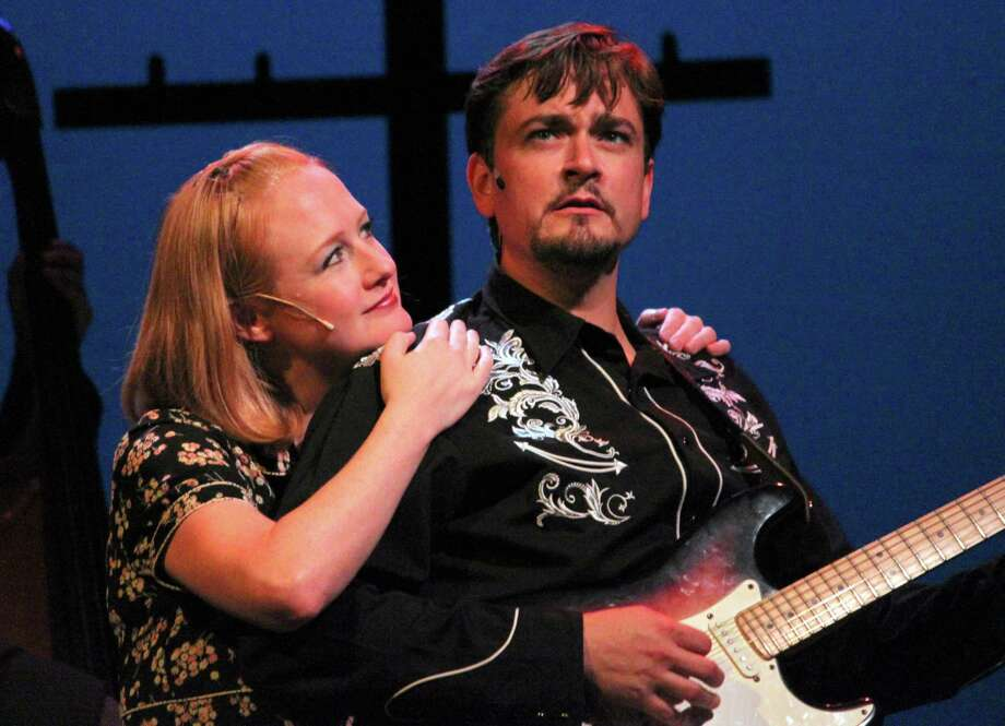 Megan Loomis and Eric Scott Anthony are pictured in 'Ring of Fire.' (Anne Hudson)