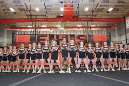 The EHS cheerleading squad.