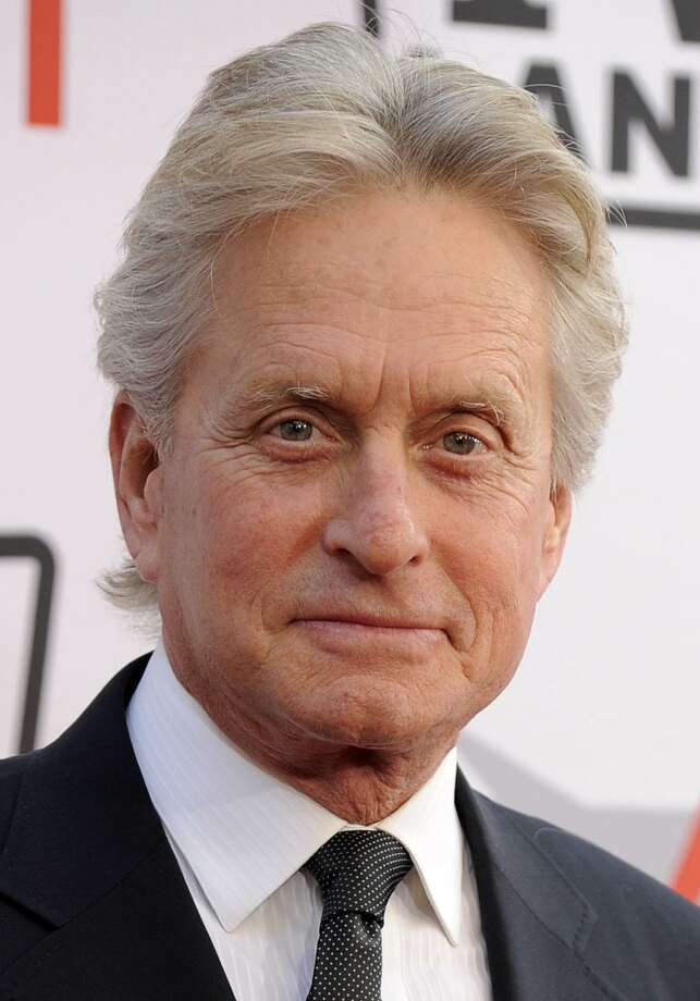 FILE - In this June 10, 2010 file photo, actor Michael Douglas arrives at the AFI Lifetime Achievement Awards honoring Mike Nichols, presented by TV Land at Sony Pictures Studios in Culver City, Calif.  (AP Photo/Chris Pizzello, file) Photo: ASSOCIATED PRESS / AP