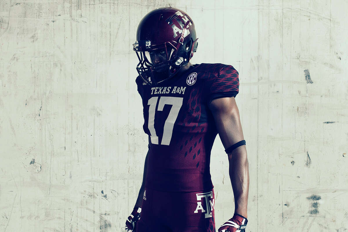 TEXAS A&M A look at the uniforms Texas A&M will wear against Mississippi State on Oct. 28, 2017 at Kyle Field
