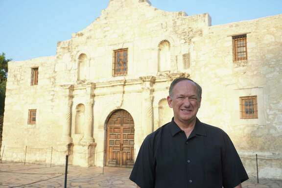 Douglass W. McDonald, a museum consultant from Cincinnati,  will serve as the Alamo's CEO for at least a year.