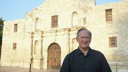 Douglass W. McDonald, a museum consultant from Cincinnati, Ohio, will serve as Alamo CEO for at least a year.