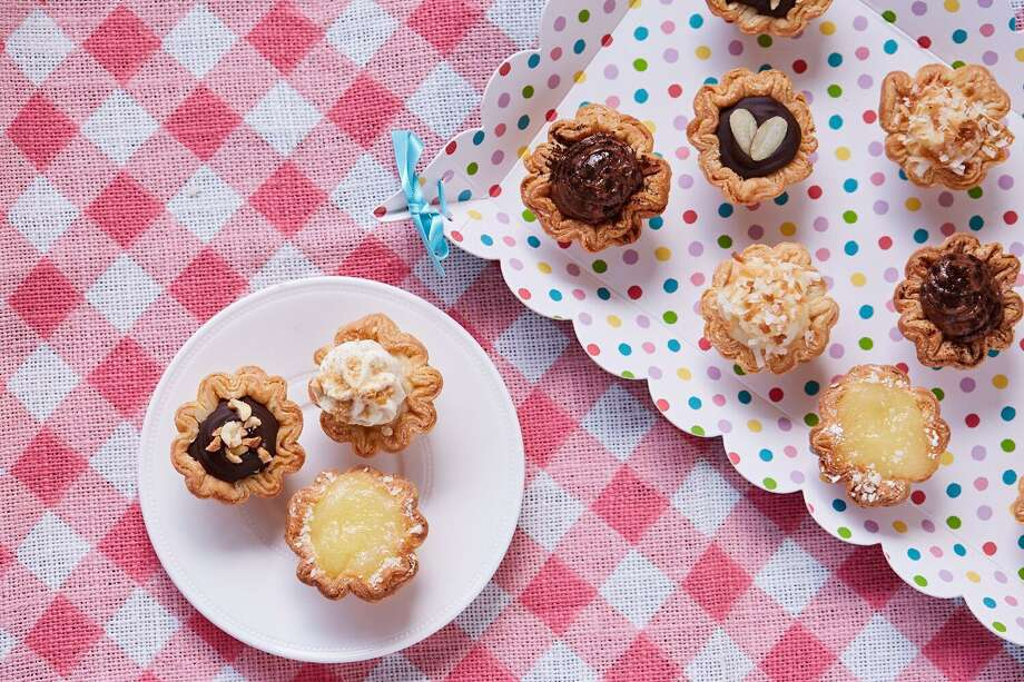 Austin-based Tiny Pies sells pies that are about the size of a cupcake. The pies will be sold for the first time in San Antonio at a Sept. 9 pop-up event at the Lick Honest Ice Creams scoop shop at The Pearl. Tiny Pies are made with flavors such as pecan, cherry, apple and blueberry, but the flavors are in constant rotation. Photo: Courtesy Photo