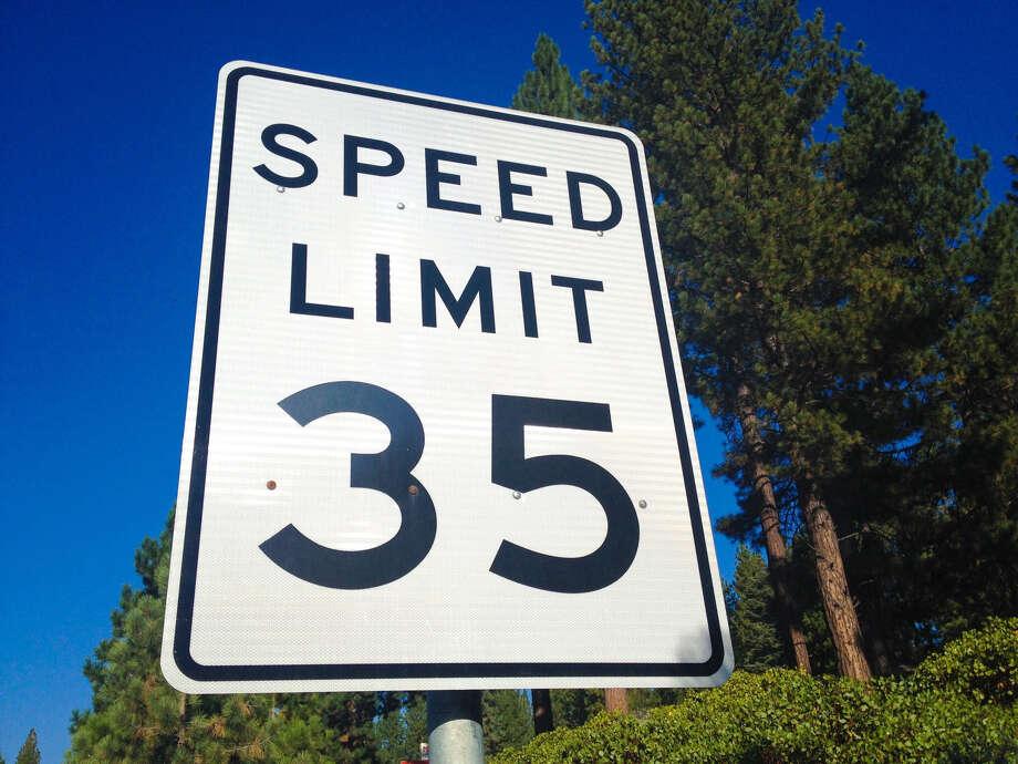 Drive the speed limit. Photo: Anders Clark / EyeEm/Getty Images/EyeEm