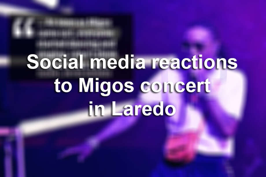 Click through this gallery to see social media reactions to the Migos concert in Laredo. Photo: Courtesy