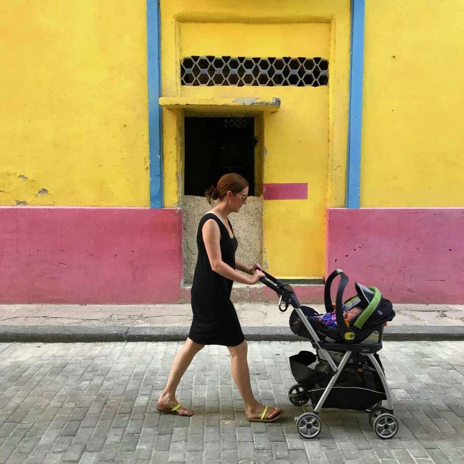 Strolling the streets of Cuba. MUST CREDIT: Austin Graff. Photo: Austin Graff / The Washington Post