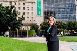 Lesa Roe, NASA's acting deputy administrator who spent time at Houston's  Johnson Space Center leading International Space Center research  programs, was been named the sole finalist for chancellor of the  University of North Texas System on Aug. 17, 2017.