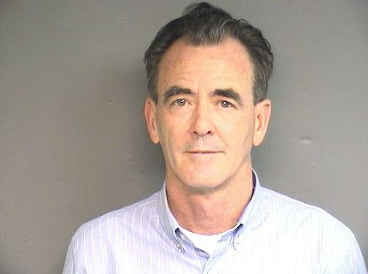 The 2016 mug shot of former Stamford attorney John J. Evans, who was disbarred this week by a Stamford judge for misconduct. In the case still pending in criminal court, Evans, 61, was charged with using the confidential information of a former employee to open a cable account for his own use.