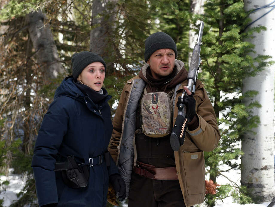 """Elizabeth Olsen and Jeremy Renner in """"Wind River."""" MUST CREDIT: Fred Hayes, The Weinstein Company Photo: Fred Hayes / © 2017 The Weinstein Company."""