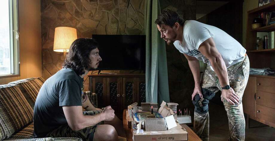 "This image released by Bleecker Street shows Adam Driver, left, and Channing Tatum in ""Logan Lucky."" (Claudette Barius/Fingerprint Releasing/Bleecker Street via AP) ORG XMIT: NYET867 Photo: Claudette Barius / © Fingerprint Releasing, All Rights Reserved"