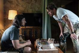 """This image released by Bleecker Street shows Adam Driver, left, and Channing Tatum in """"Logan Lucky."""" (Claudette Barius/Fingerprint Releasing/Bleecker Street via AP) ORG XMIT: NYET867"""