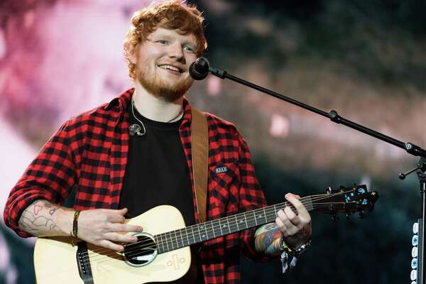 Ed Sheeran returns to San Antonio on Tuesday, his first appearance here since opening for Taylor Swift on her Red tour.