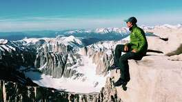 Noel Nelson, 18, from San Antonio, hiked from Mexico to Canada in 2017 because he wanted to do it before college. He's close to the end of the 2,650 mile long Pacific Crest Trail.