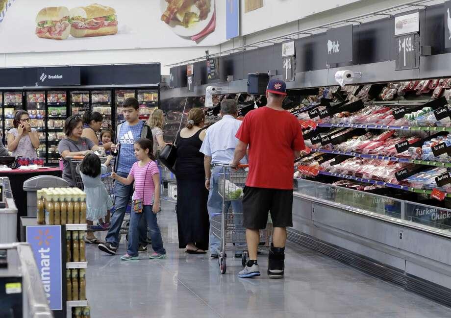 Americans are buying more food at Walmart - San Antonio